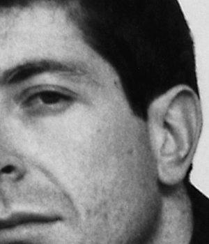 Leonard Cohen, poet,