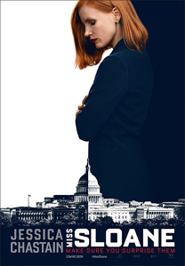 Miss Sloane, movie, poster,