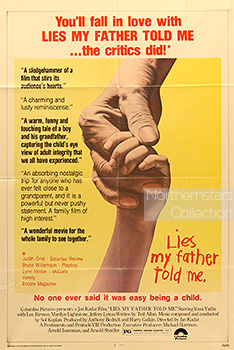 Lies My Father Told Me, movie, poster,