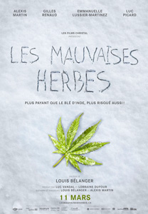 Les mauvaises herbes, movie, poster,