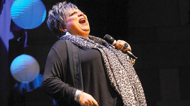 Jackie Richardson, singer, actress,
