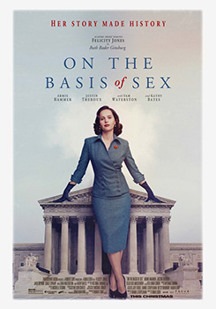 On the Basis of Sex, movie, poster,