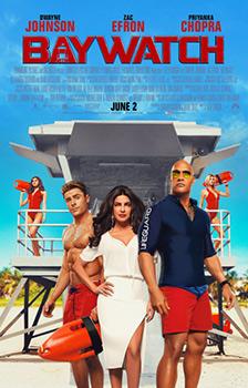 Baywatch, movie, poster,
