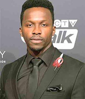 Emmanuel Kabongo, actor,