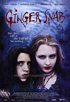 Ginger Snaps, movie, poster,