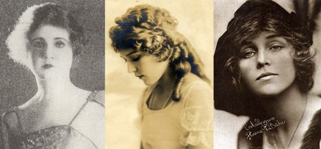 Biograph's Three Canadian Beauties, image,