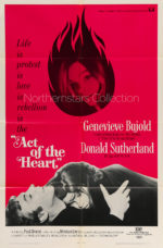 Act of the Heart, movie, poster,