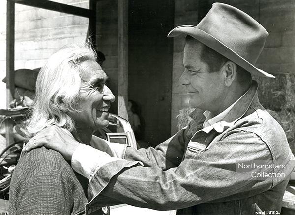 Chief Dan George & Glenn Ford, image