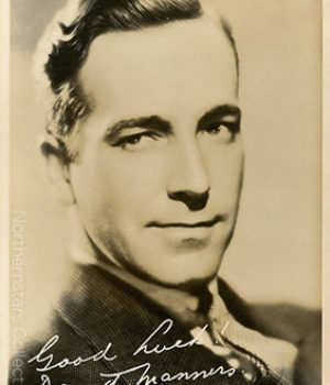 David Manners, actor,