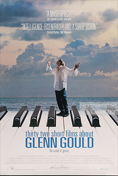 Thirty Two Short Films About Glenn Gould, movie, poster,