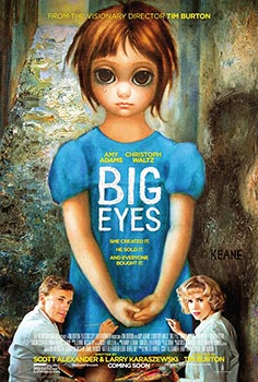 Big Eyes, movie, poster,