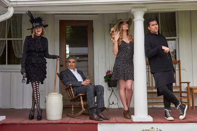 Schitt's Creek, tv series, cast,