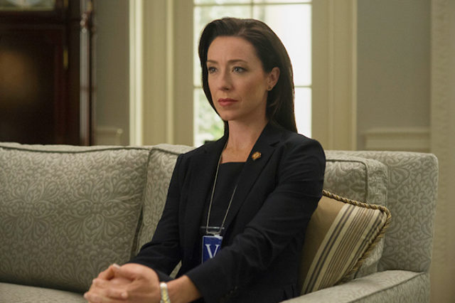 Molly Parker, actress,