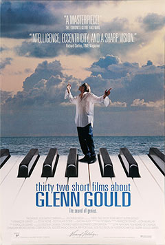 Thirty-two Short Films About Glenn Gould, movie, poster, image,