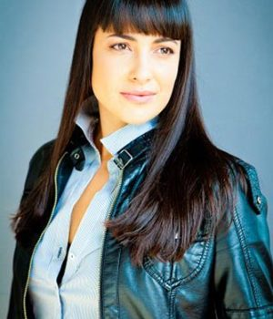 Nicola Correia-Damude, actress,