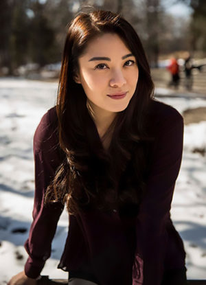 Bernice Liu, actress,
