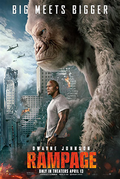 Rampage, movie, poster,