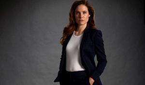 Caroline Dhavernas, actress,