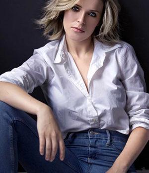 Charlotte Aubin, actress,