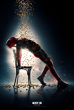 Deadpool 2, movie, poster,