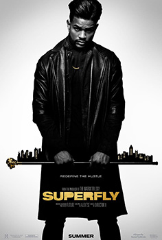 Superfly, 2018 movie, poster,
