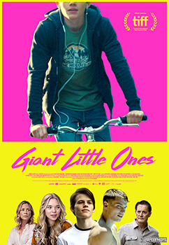 Giant Little Ones, movie, poster,