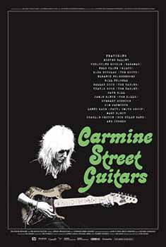 Carmine Street Guitars, documentary, poster, film,