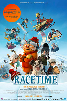 Racetime!, movie, poster,