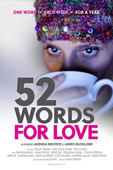 52 Words for Love, movie, poster,