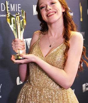 Amybeth McNulty, actress,