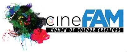CineFAM logo, image,