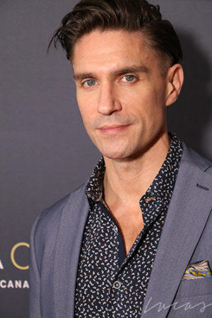 Michael Rowe, actor,