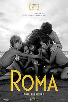 Roma, movie, poster