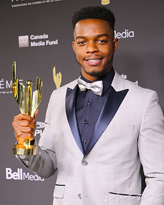 Stephan James, actor,