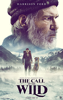 The Call of the Wild, 2020 movie, poster,