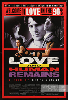 Love and Human remains, movie, poster,