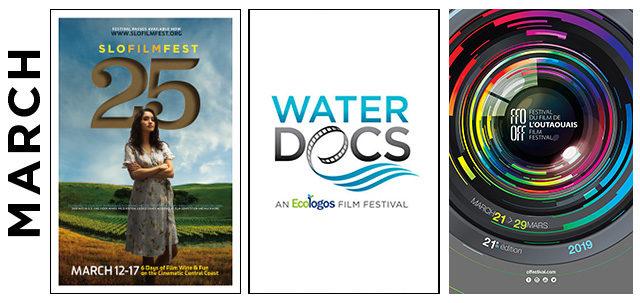 March 2019 film festivals, image,