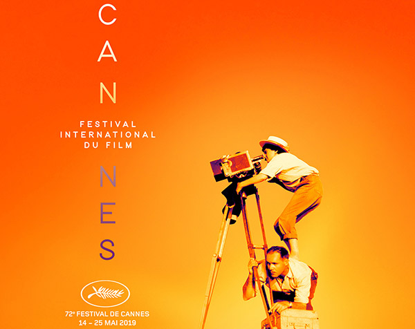 Cannes 2019 official poster, image,
