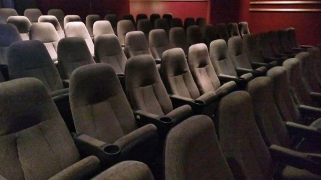 Empty Cinema Seats, image,