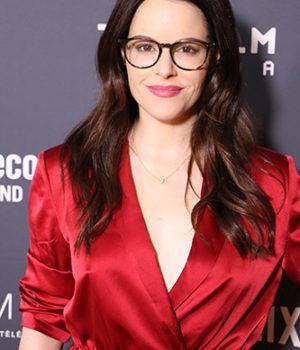 Emily Hampshire, actress,