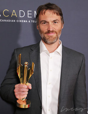 Robert Budreau, director,