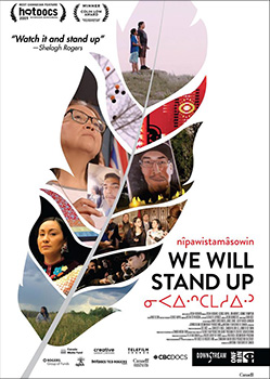 nîpawistamâsowin: We Will Stand Up, movie, poster,