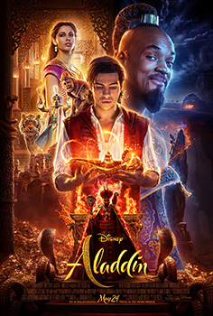Poster for Aladdin, movie,