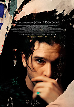 Death and Life of John F. Donovan, movie, poster,