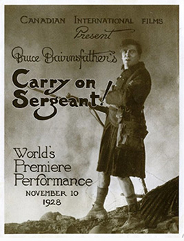 Carry on Sergeant, movie, poster,