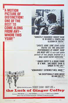 Luck of Ginger Coffey, movie, poster,