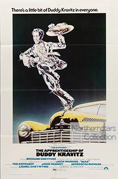 The Apprenticeship of Duddy Kravitz, movie, poster,