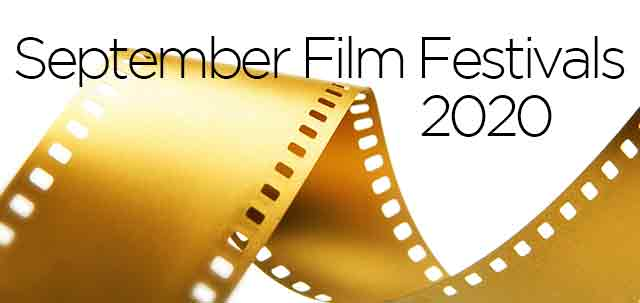 September 2020 Film Festivals, image,