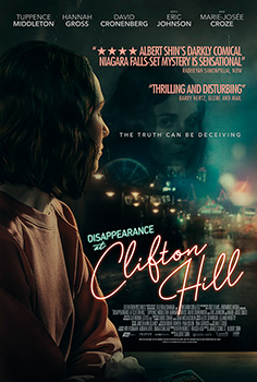 Disappearance at Clifton Hill, movie, poster,