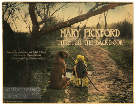 Mary Pickford, Through the Back Door, image,
